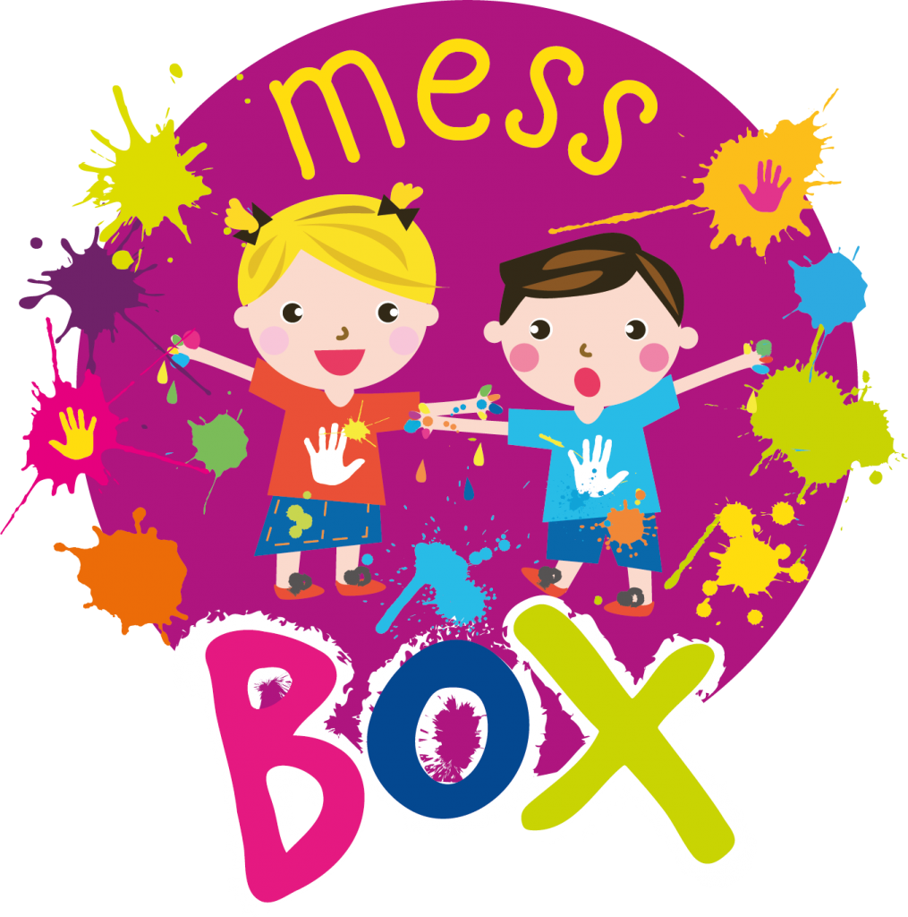 mess box messy play subscription box logo