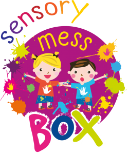 sensory messy play box