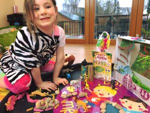 messy play crafts