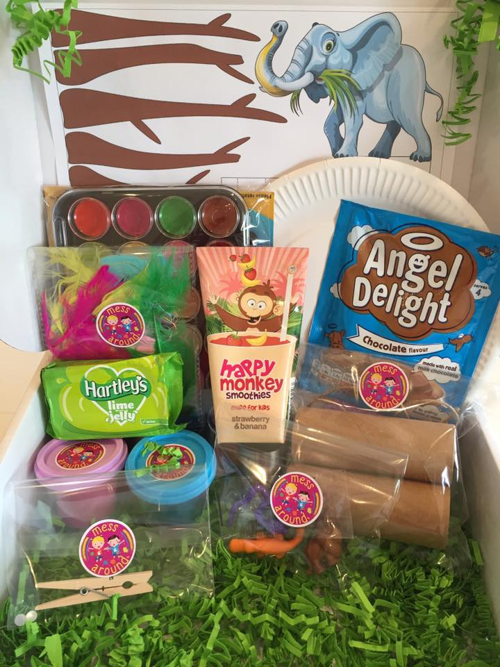 messy play box delivery