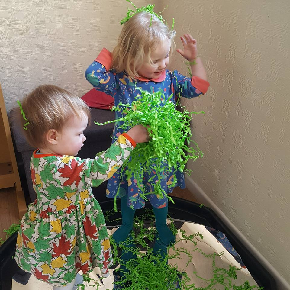 messy play fun